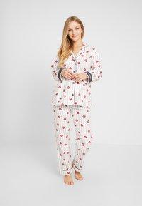 PJ Salvage - SET - Pyjama - off-white/red - 0