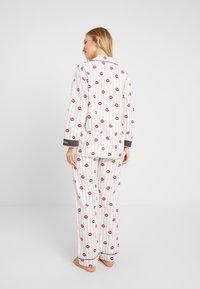 PJ Salvage - SET - Pyjama - off-white/red - 2
