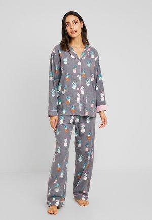 FLANNELS SET - Pyjama - grau