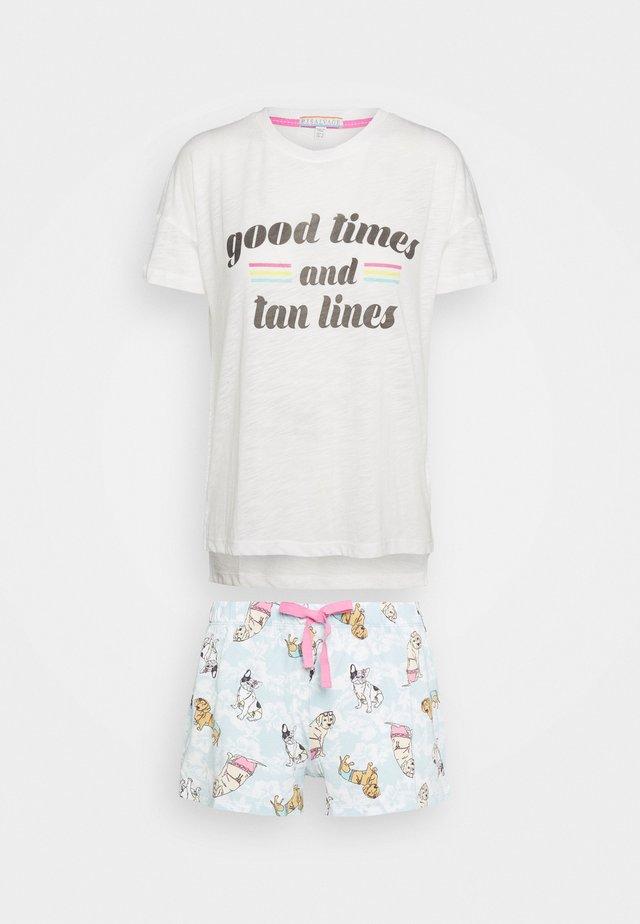 SHORT SET - Pyjama - ivory