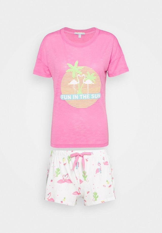 SHORT SET - Pyjama - fuchsia