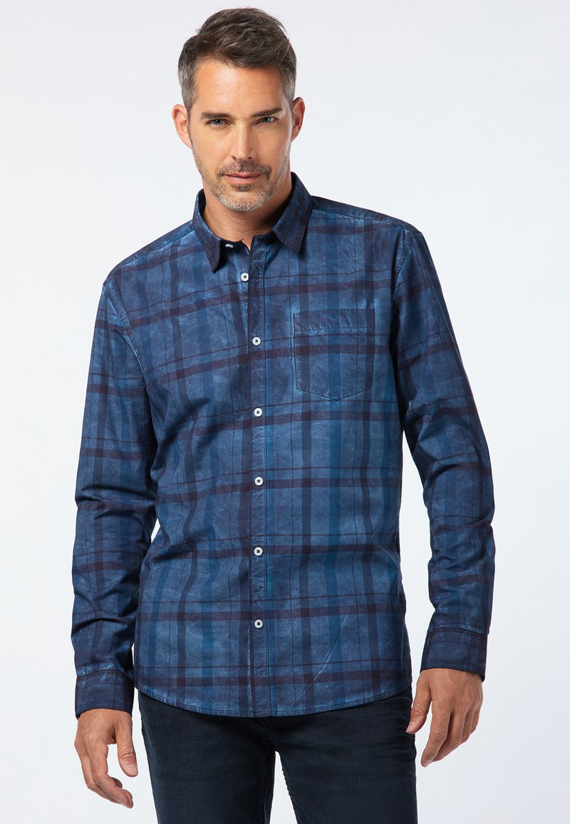 Pioneer Authentic Jeans - REGULAR FIT - Shirt - navy blue