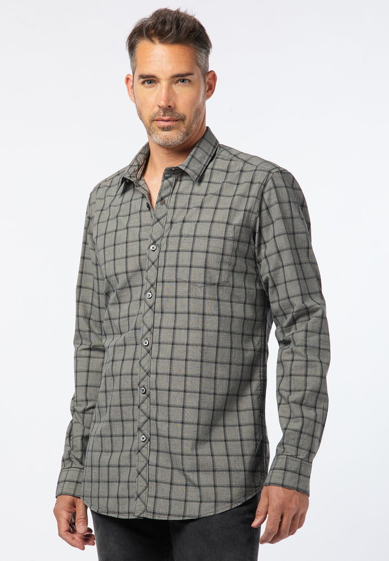 Pioneer Authentic Jeans - REGULAR FIT - Shirt - light grey
