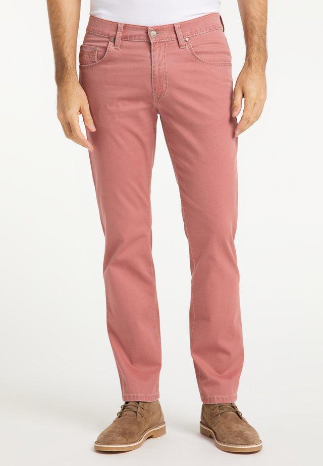 RANDO AUTHENTIC LINE - Jeans Straight Leg - melon