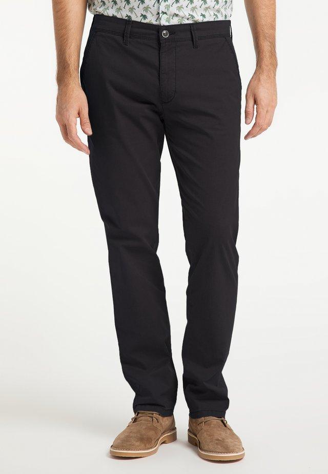 ROBERT - Pantalon classique - black