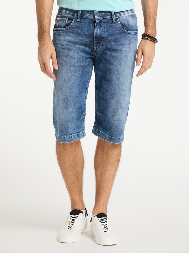 Denim shorts - stone washed used