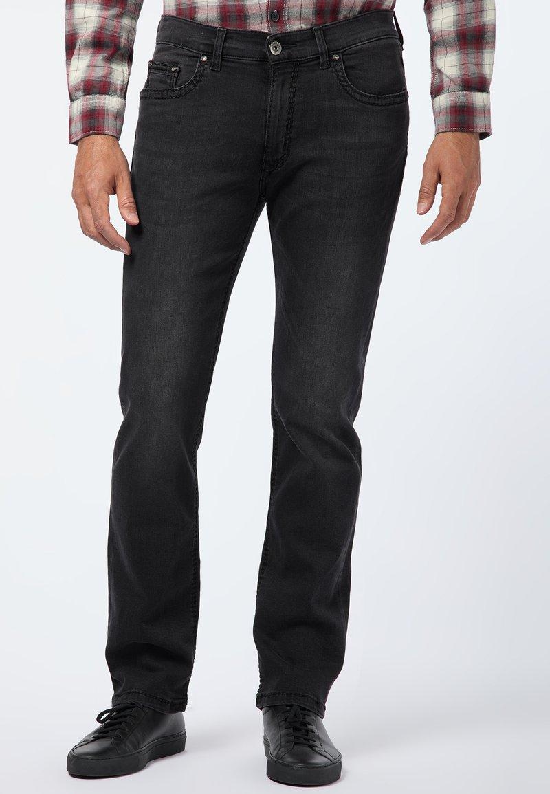 Pioneer Authentic Jeans - RANDO - Straight leg jeans - black