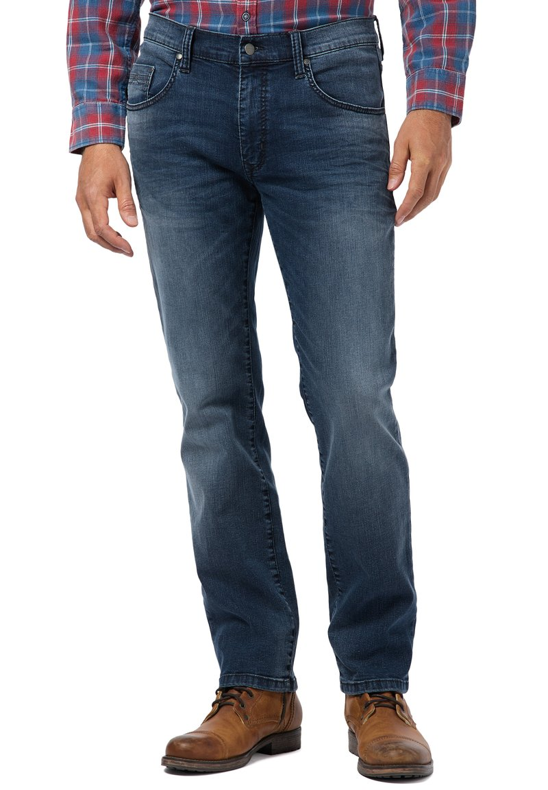 Pioneer Authentic Jeans - Straight leg jeans - blue denim