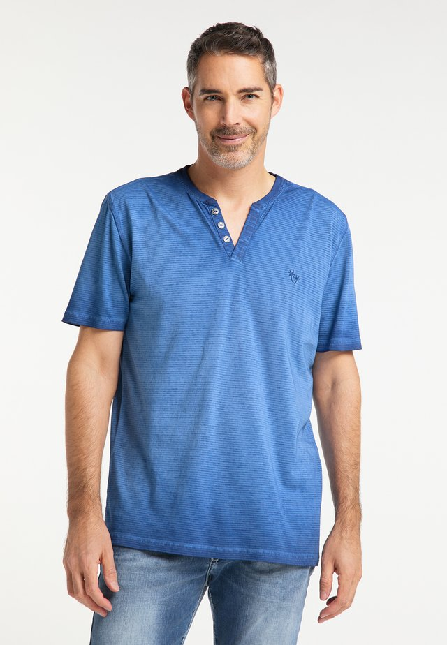 T-shirt imprimé - nautic blue