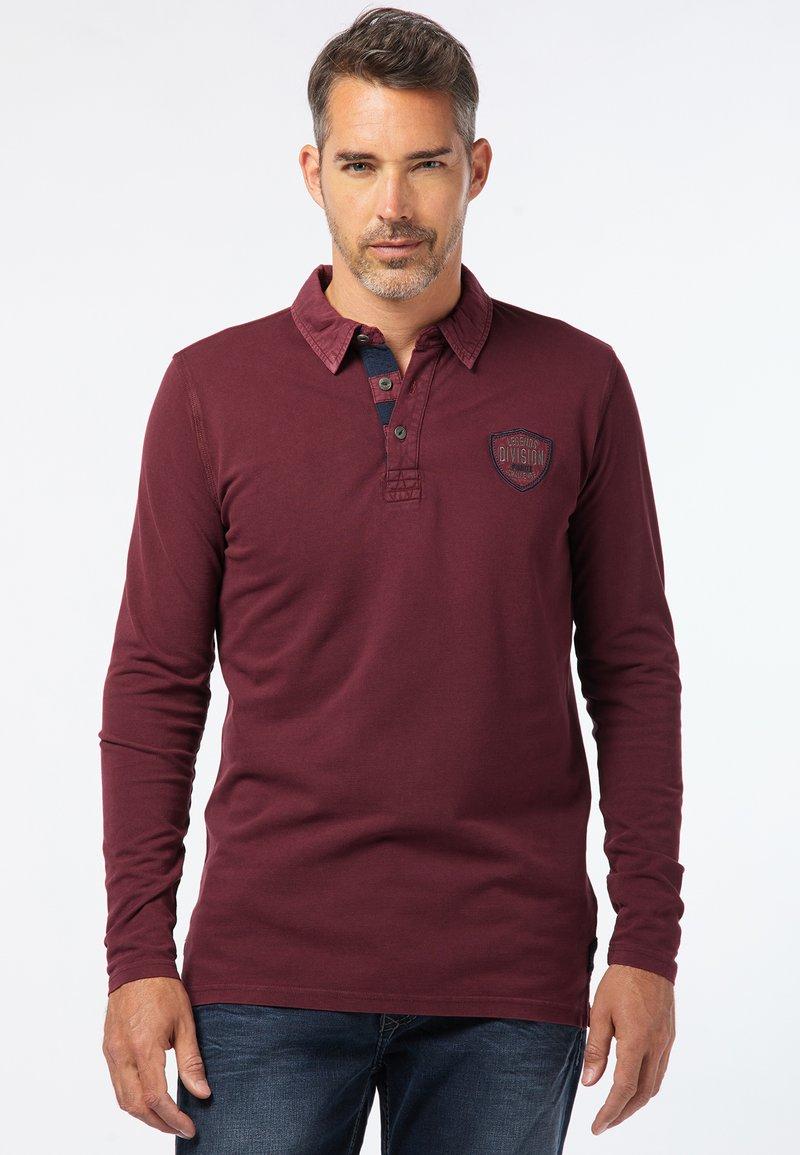 Pioneer Authentic Jeans - Polo shirt - bordeaux