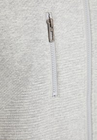 Pioneer Authentic Jeans - SWEATJACKET ÜBERGRÖSSE - Hoodie met rits - gray mel - 5