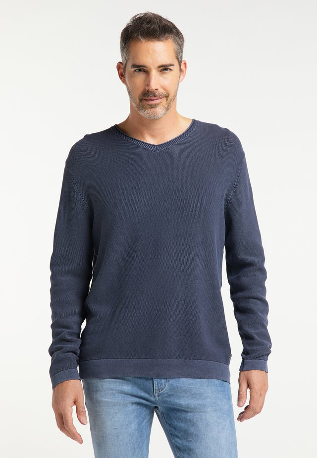 ÜBERGRÖSSE - Sweater - marine blue