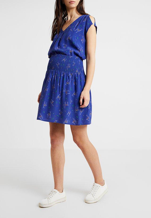 EMILIE - A-line skirt - blue