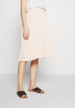 CHARLOTTE - Áčková sukně - nude