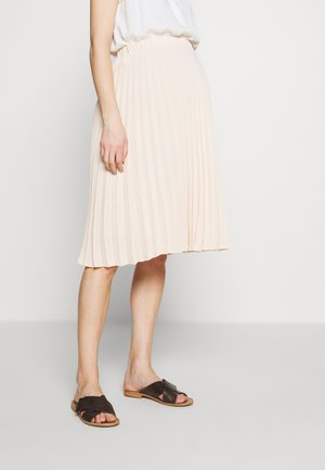 CHARLOTTE - A-line skirt - nude