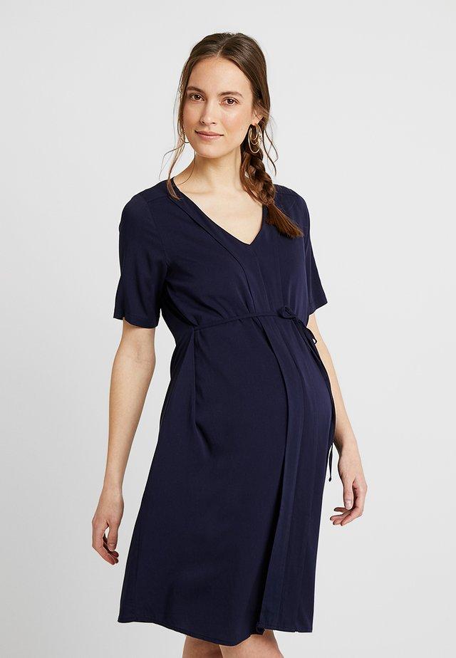 ROBE DRESS CLAIRE - Day dress - uni marine