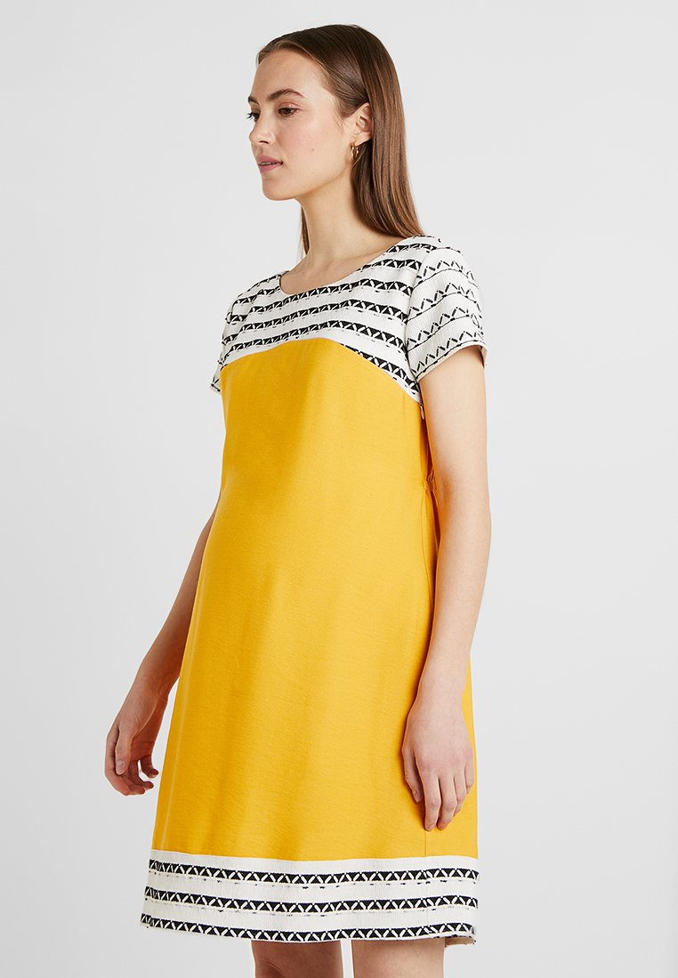 Pomkin - BETTINA - Vestido informal - black/yellow