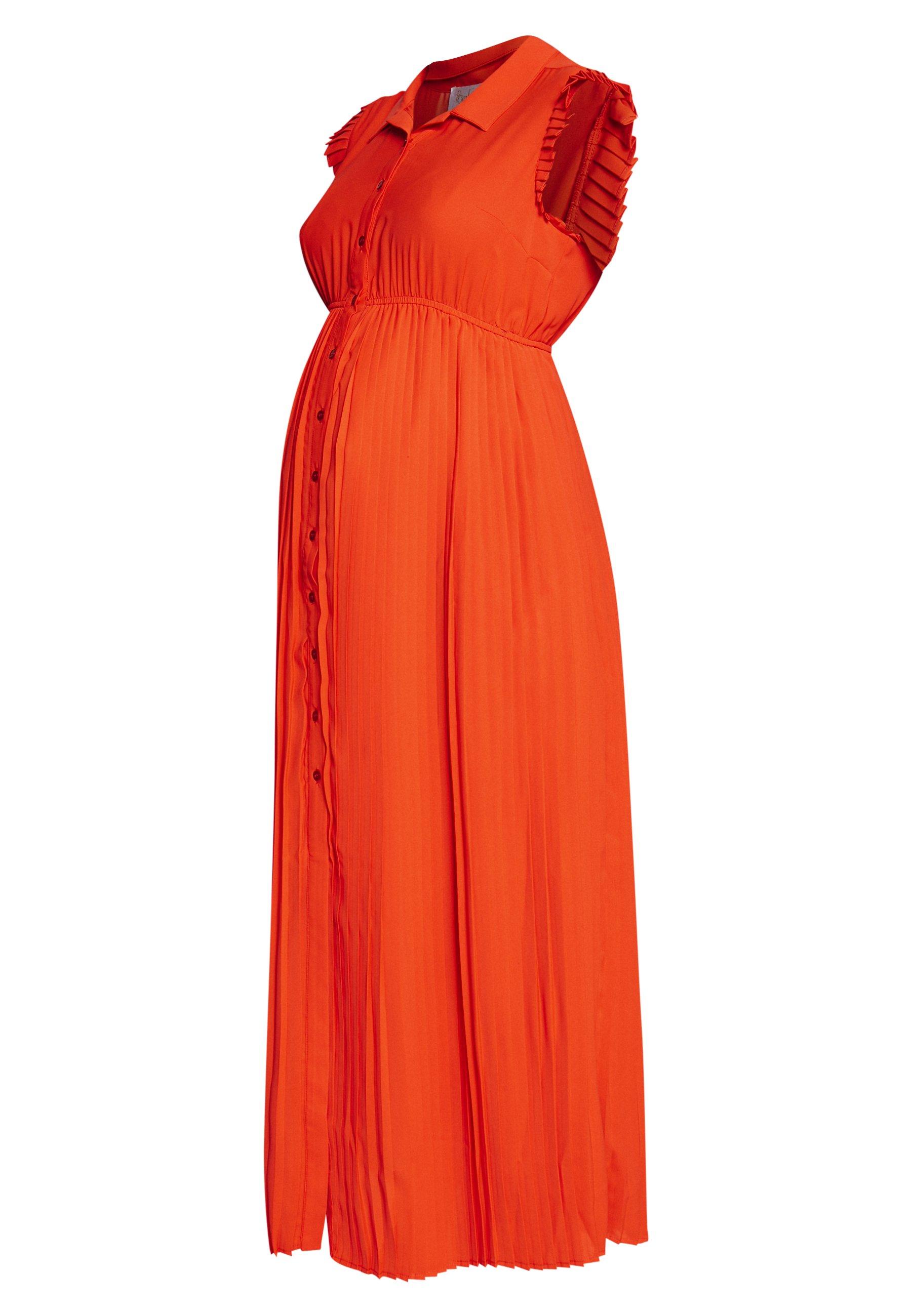 Pomkin BEATRIZ - Długa sukienka - coral