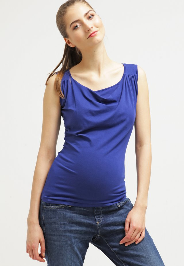 MARIE NURSING - Topper - blau