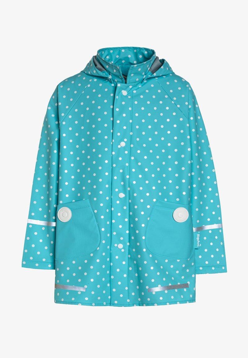 Playshoes - PUNKTE - Waterproof jacket - türkis