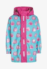 Playshoes - Waterproof jacket - türkis - 0