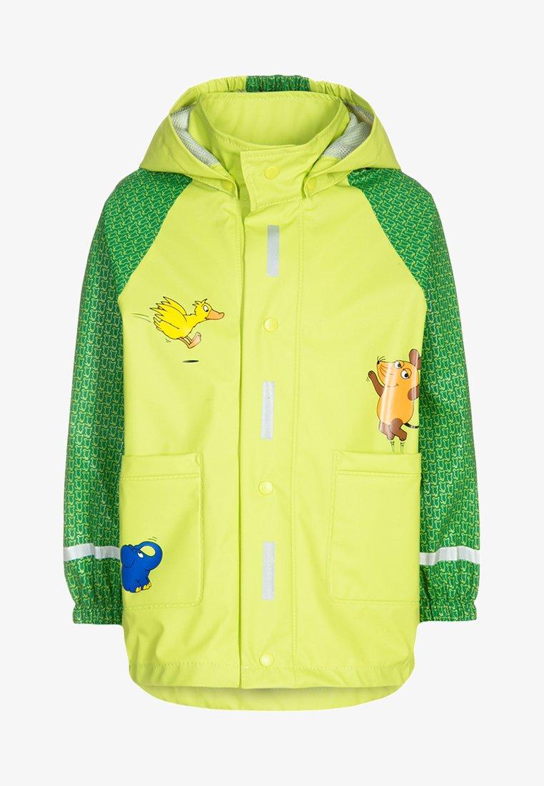 Playshoes - DIE MAUS - Waterproof jacket - green