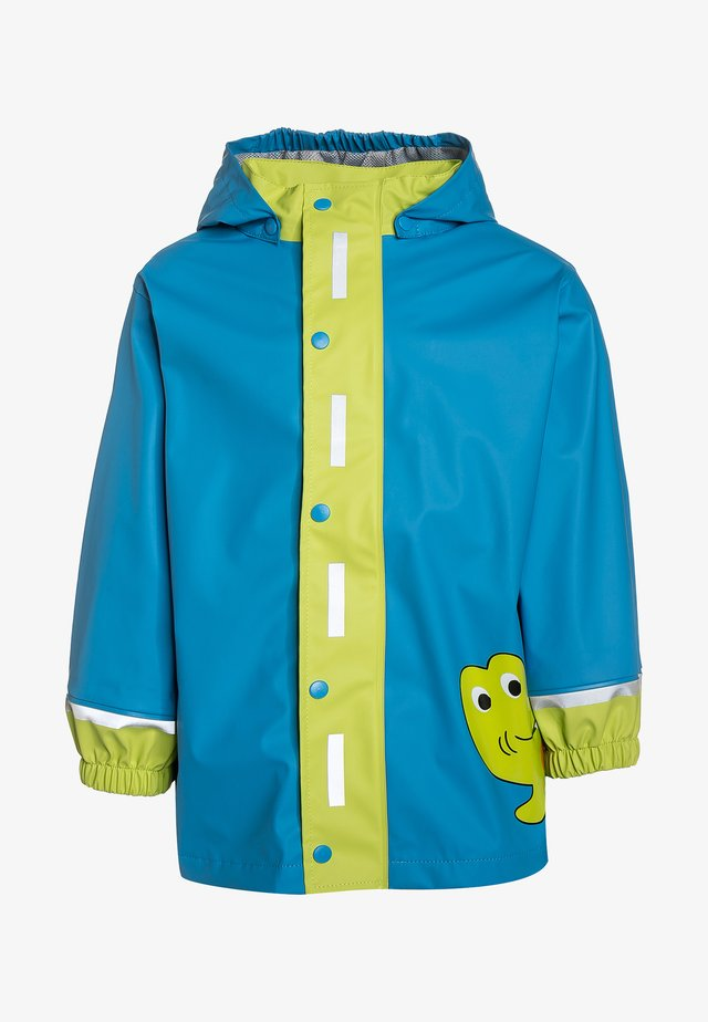 Waterproof jacket - turquoise