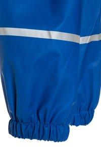 Playshoes - REGENANZUG HAI ALLOVER SET  - Pantalon de pluie - blau - 7