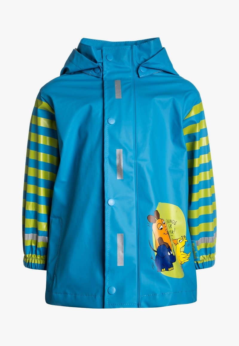 Playshoes - Waterproof jacket - türkis