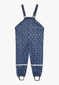 Playshoes - BAUSTELLE ALLOVER - Pantalon de pluie - marine - 1