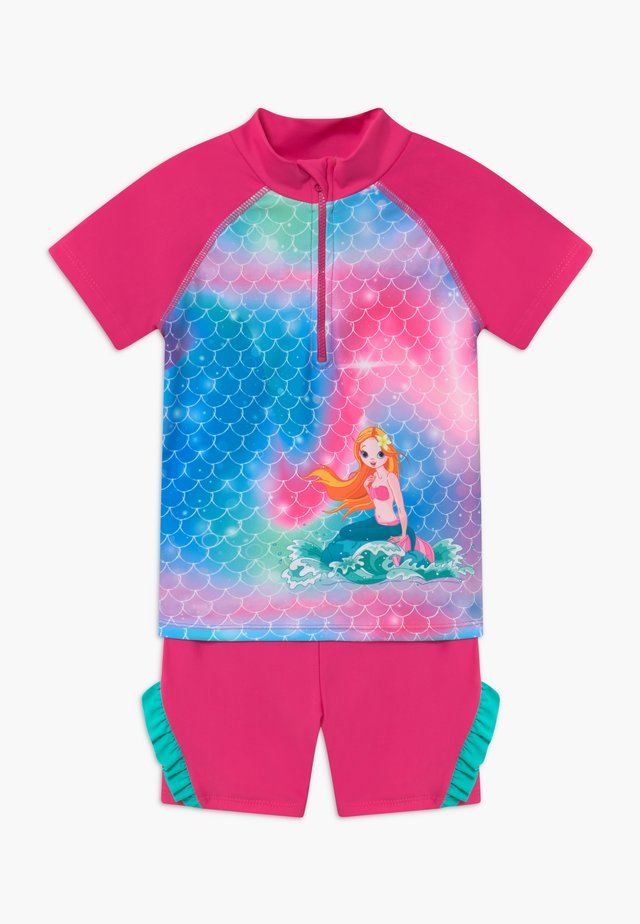 UV-SCHUTZ MEERJUNGFRAU - Bikinit - pink