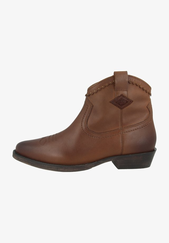 WALKYRIE THD - Cowboy/biker ankle boot - tan