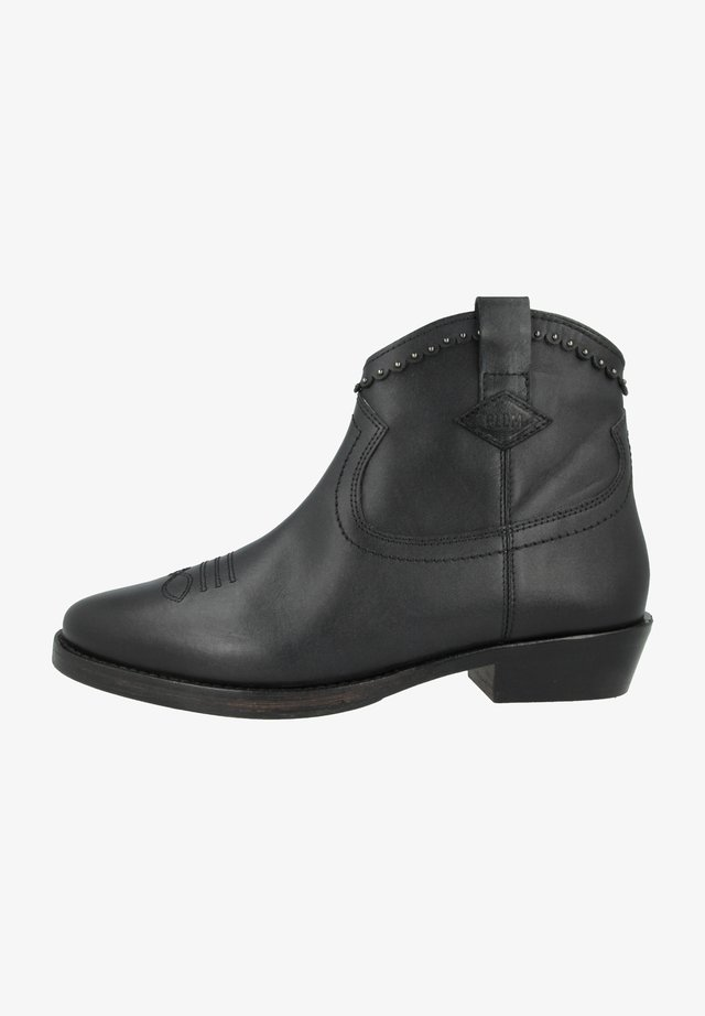 WALKYRIE THD - Cowboy/biker ankle boot - black