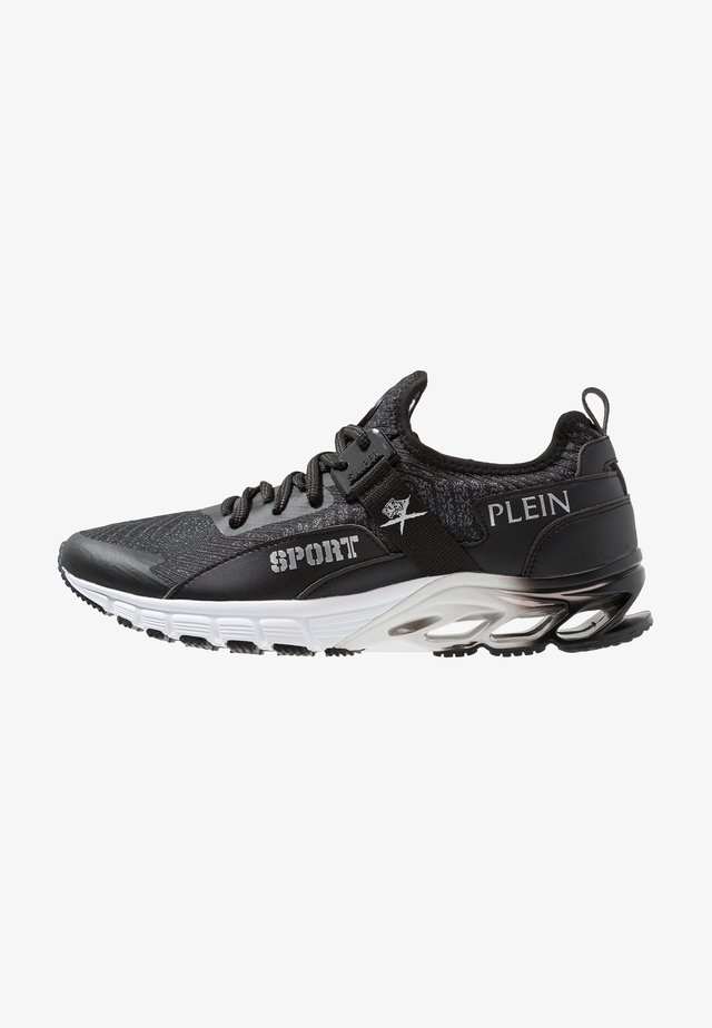 Trainers - black/silver