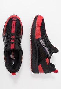 Plein Sport - RUNNER UNSTOPPABLE - Sneaker low - black/red - 1