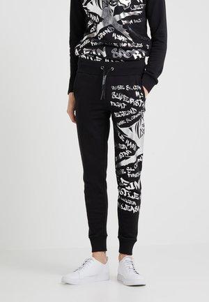 TROUSERS GRAFFITI - Pantaloni sportivi - black