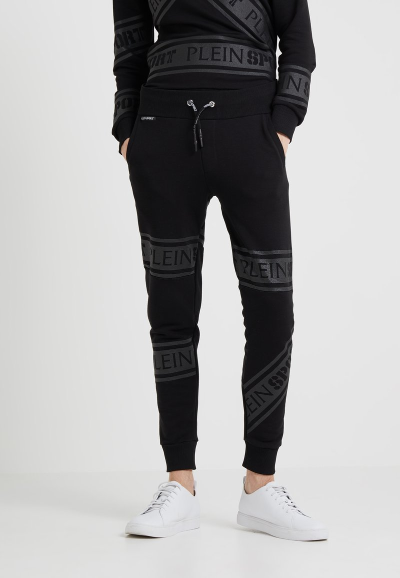 Plein Sport - JOGGING TROUSERS - Pantaloni sportivi - black