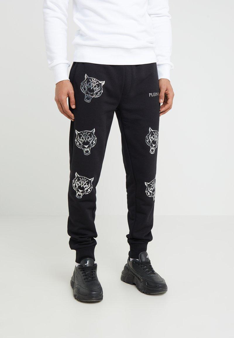 Plein Sport - JOGGING TROUSERS TIGER - Pantalon de survêtement - black
