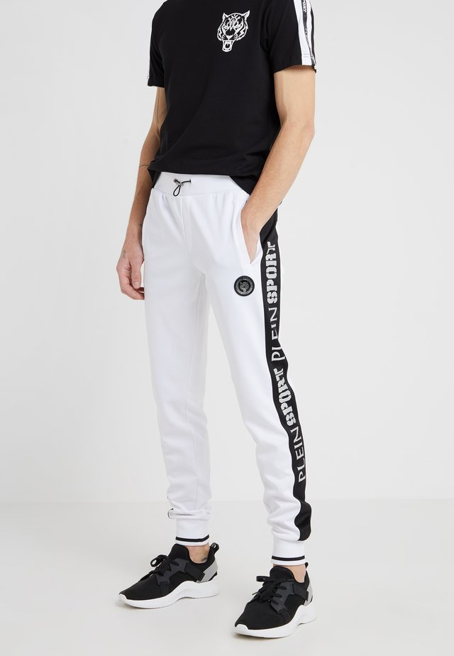 JOGGING TROUSERS  - Trainingsbroek - white