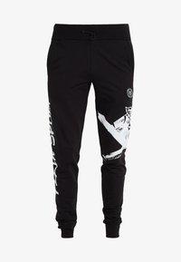 Plein Sport - JOGGING TROUSERS CROSS TIGER - Pantalon de survêtement - black - 4