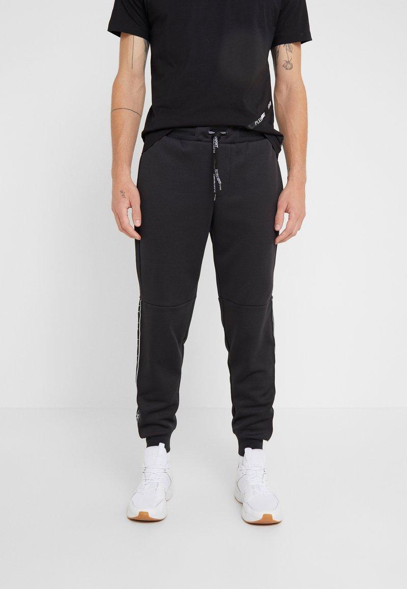 Plein Sport - Teplákové kalhoty - black