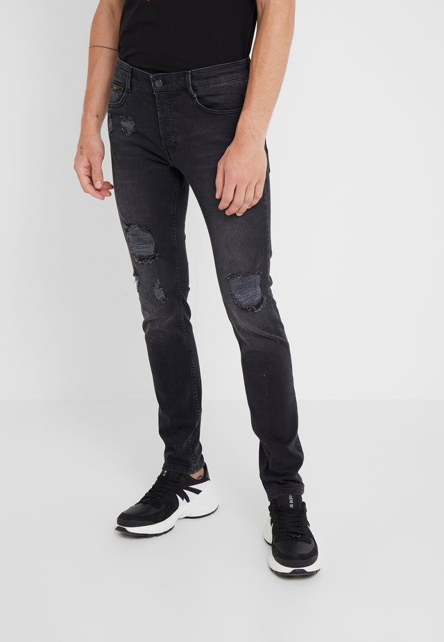 SCRAT - Slim fit jeans - black