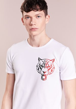 BASIC TIGER - T-Shirt print - white