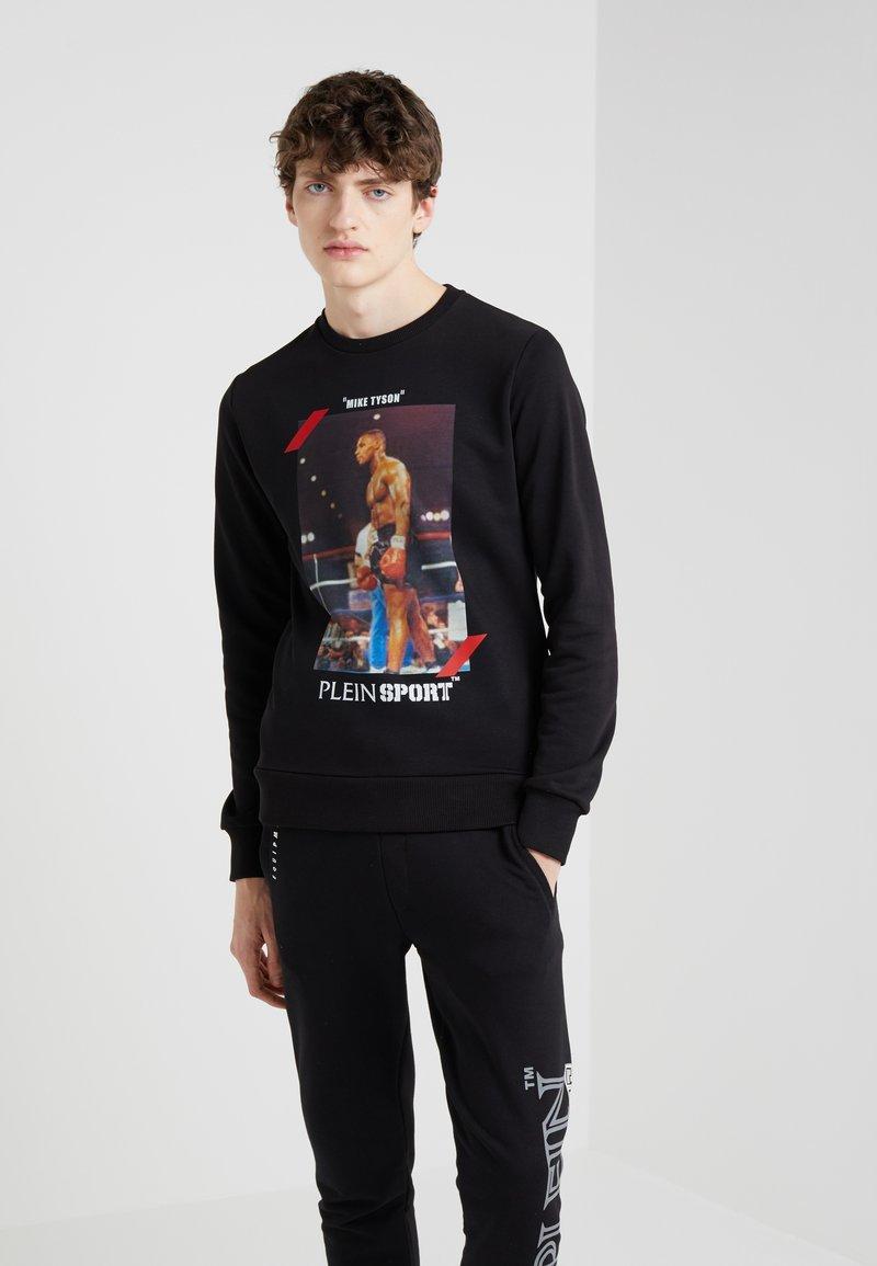Plein Sport - MIKE TYSON - Sweatshirt - black