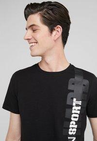 Plein Sport - T-shirt print - black - 4