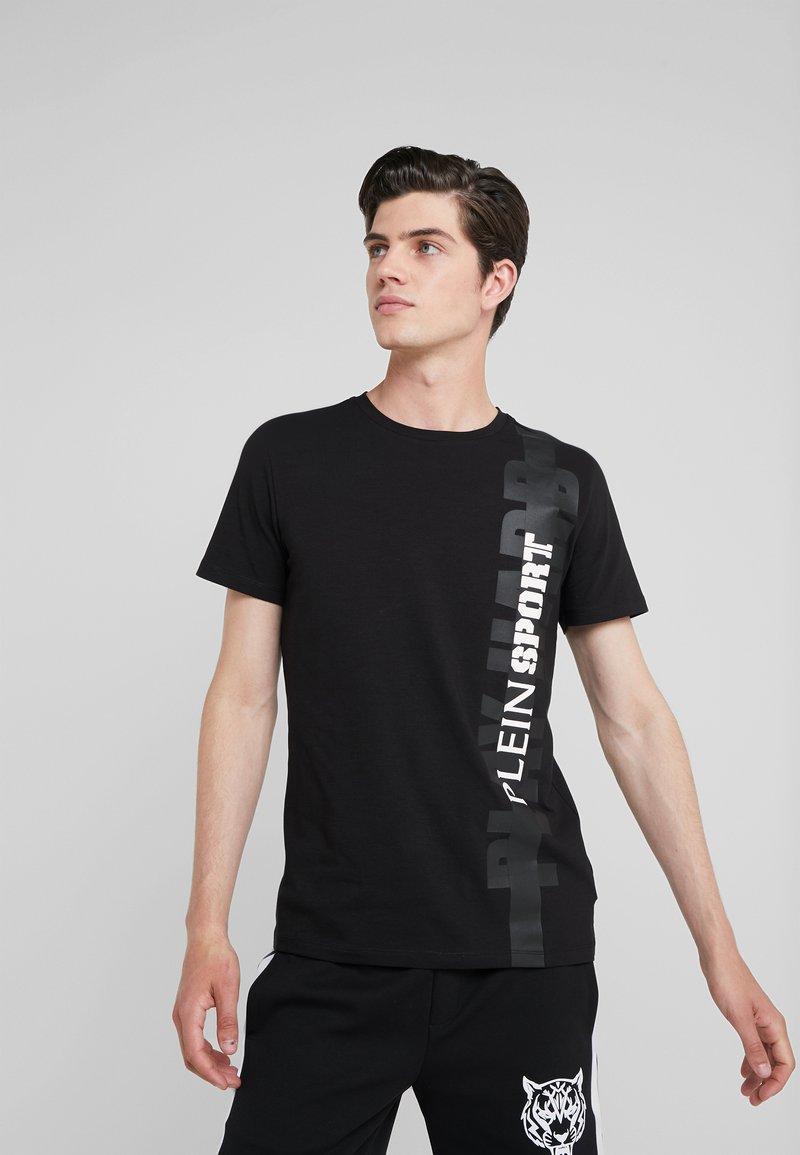 Plein Sport - T-shirt print - black