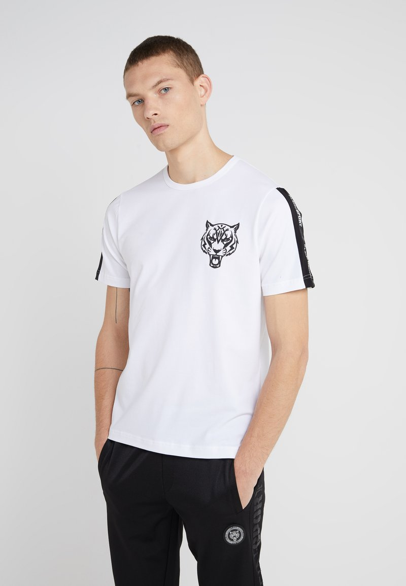 Plein Sport - ROUND NECK ORIGINAL - T-shirt med print - white