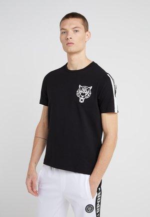ROUND NECK ORIGINAL - T-shirt med print - black