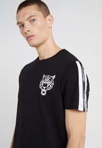 Plein Sport - ROUND NECK ORIGINAL - T-shirt print - black - 4