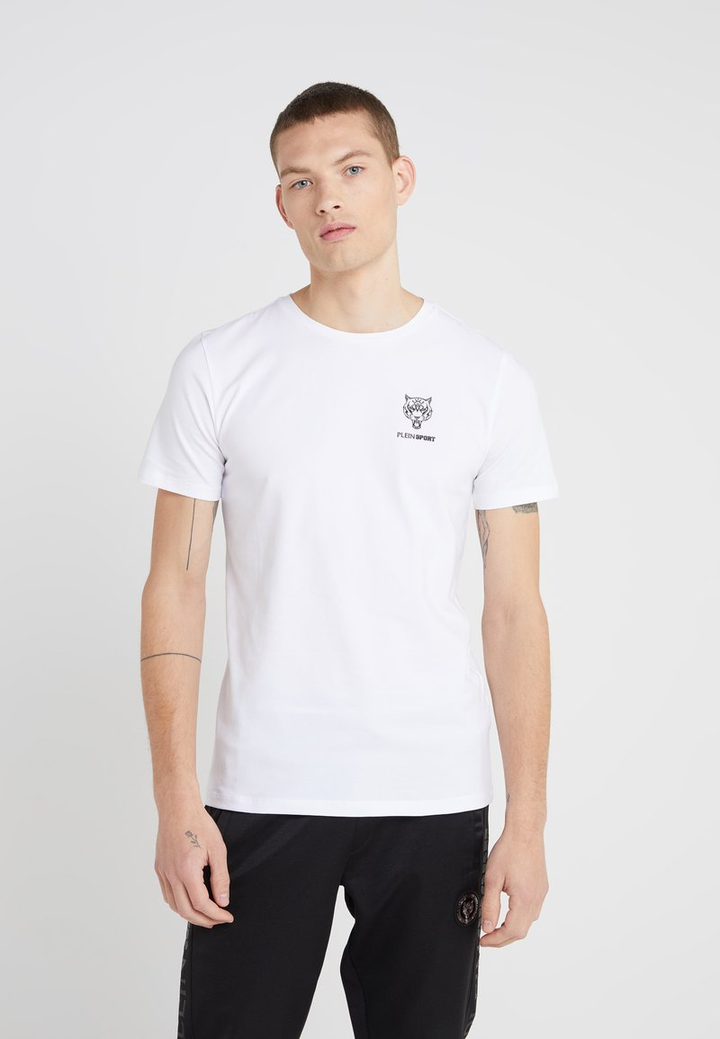 Plein Sport - ROUND NECK ORIGINAL - T-Shirt basic - white